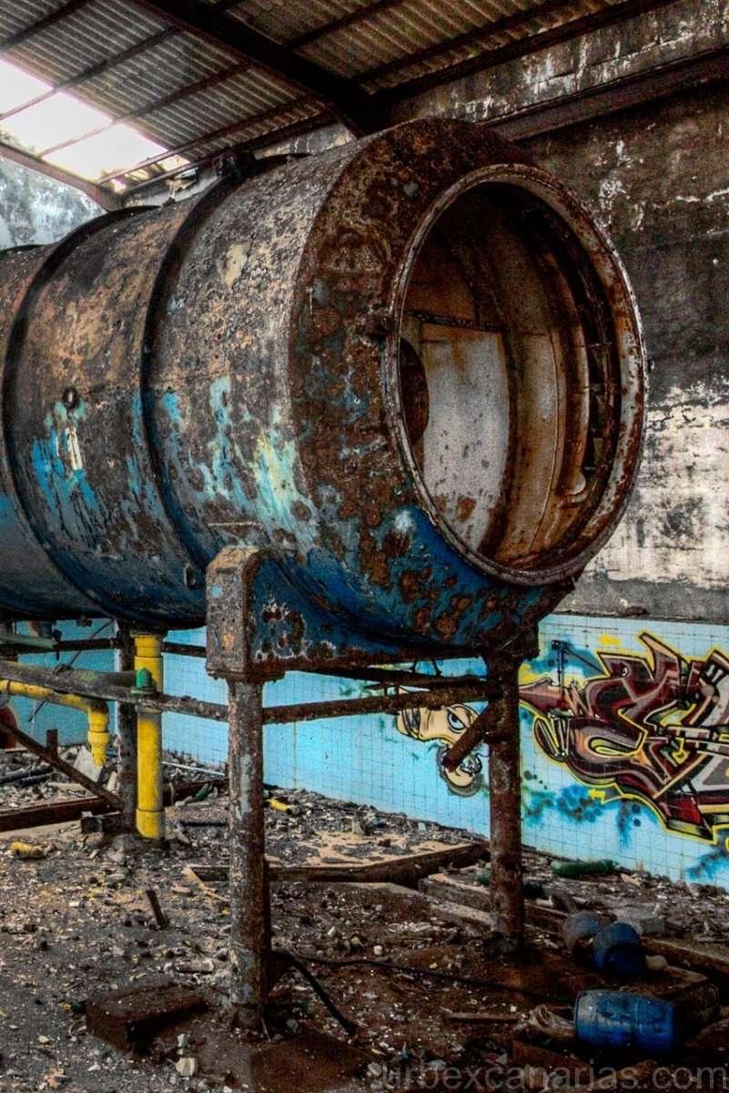 Desaladora Lanzarote abandonada