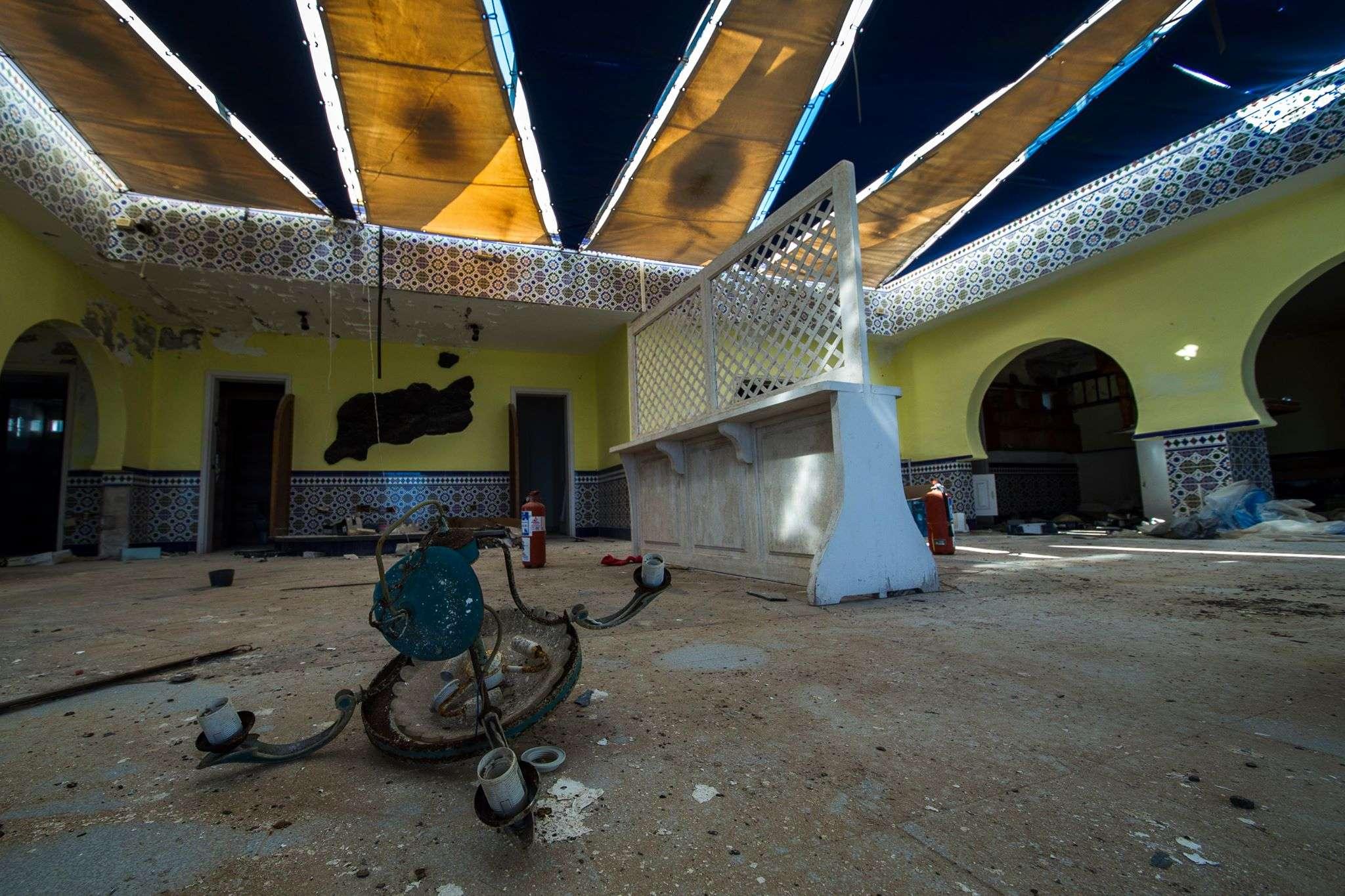 Lanzarote |<br> Restaurante abandonado
