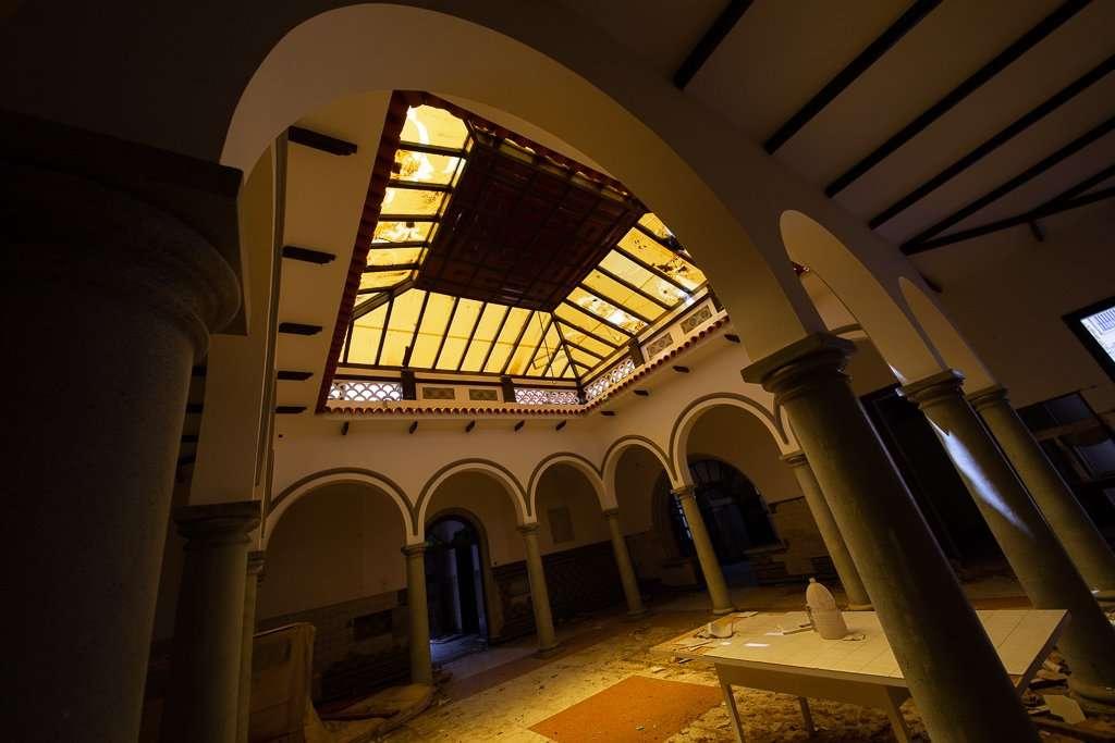 Techo de la Finca en Gran Canaria