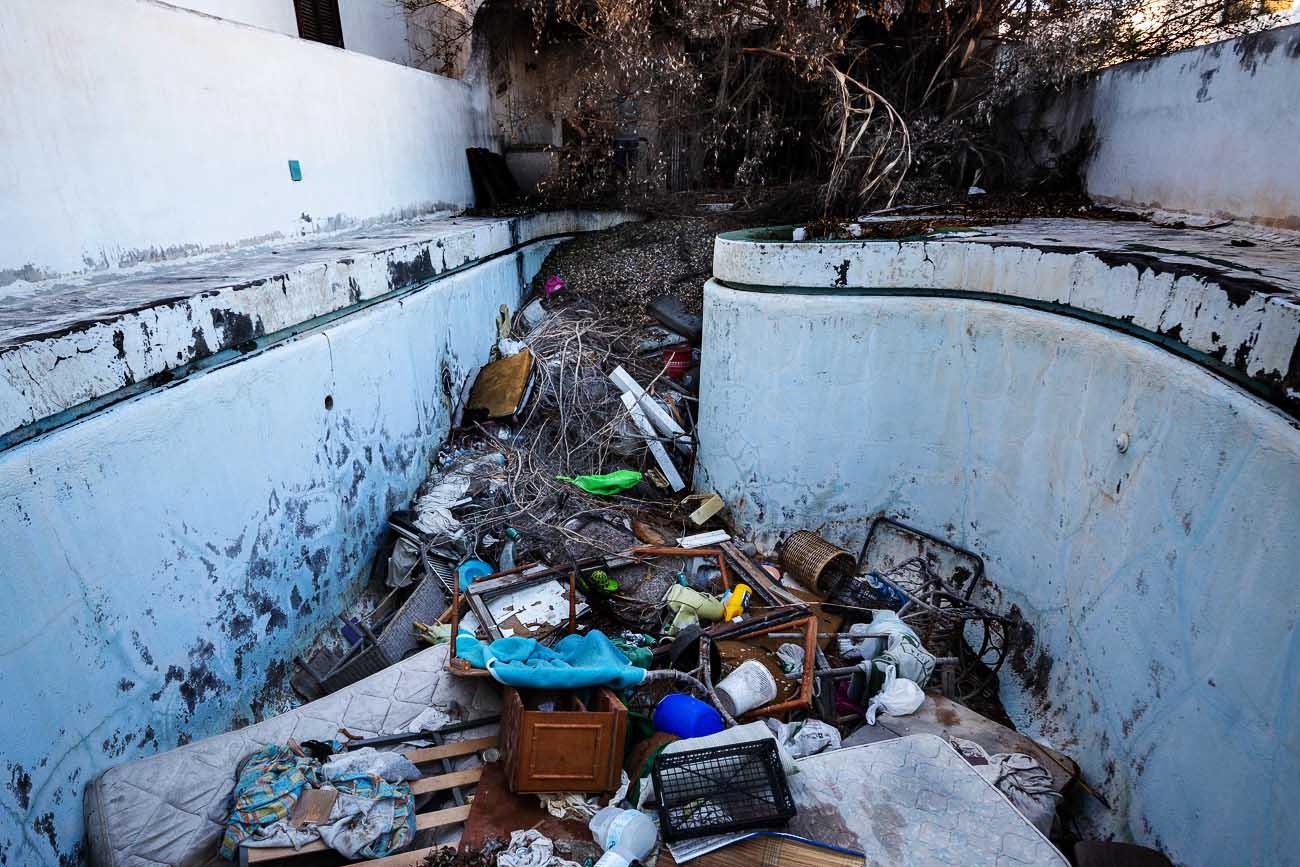 Lanzarote | casa abandonada: Okupa en Playa Honda 12