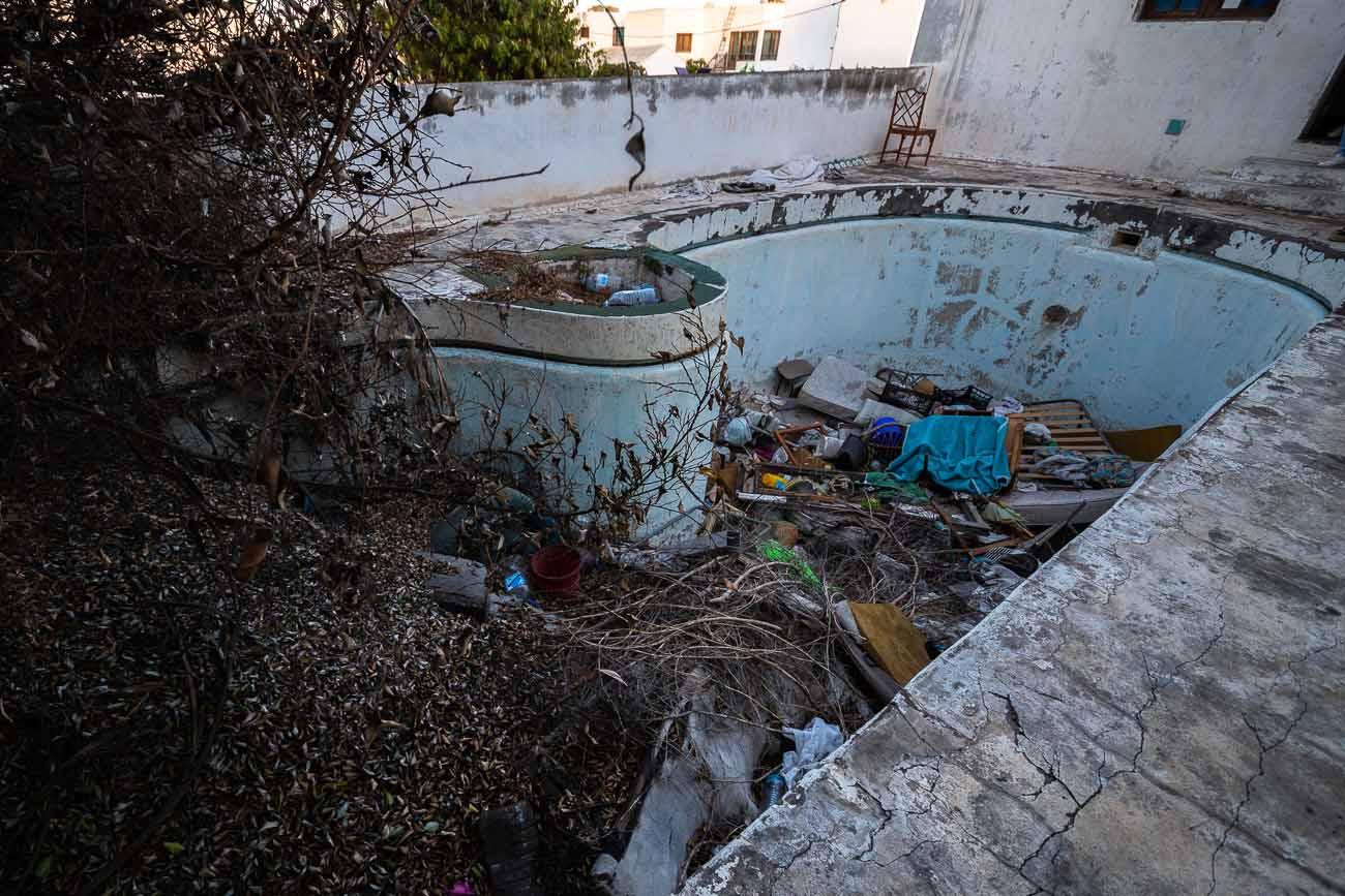 Lanzarote | casa abandonada: Okupa en Playa Honda 86