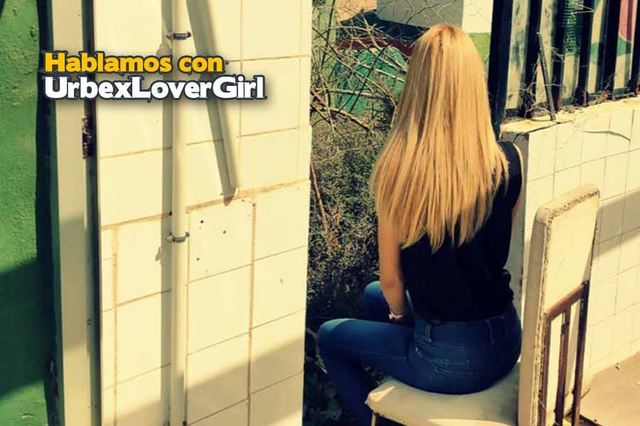 Urbex lover girl