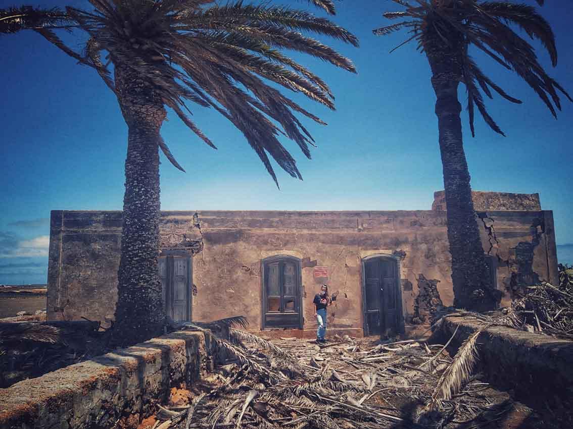 Cofete, Fuerteventura. LLegando a Villa Winter.