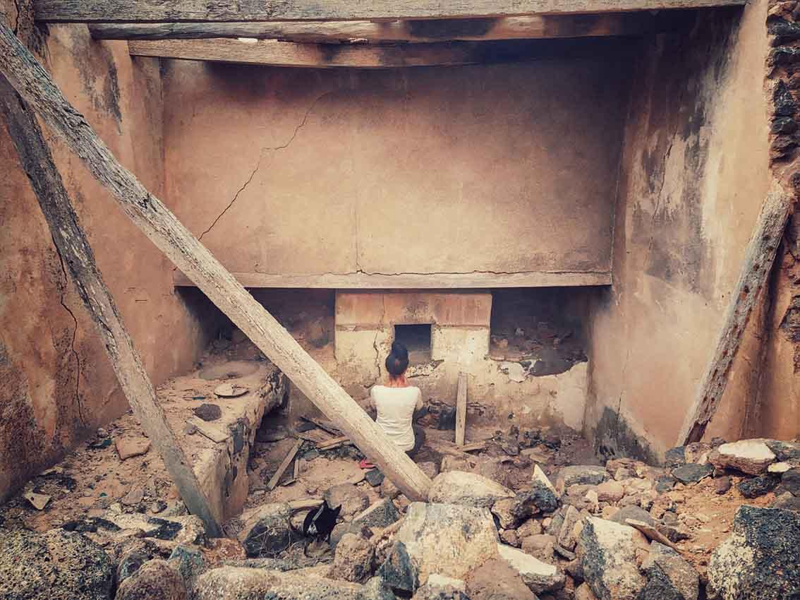 La puerta de la muerte. Homicidio en Lanzarote. Las hermanas del silencio. Lugares abandonados.