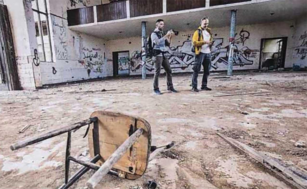 Entrevistas Urbex. Fotógrafos urbex y exploración urbana